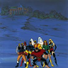 X-Men Production Cel - ID: octxmen20522 Marvel