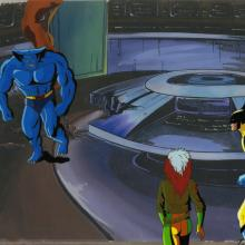 X-Men Production Cel - ID: octxmen20547 Marvel
