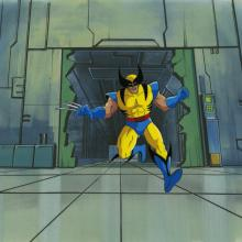 X-Men Production Cel - ID: octxmen20552 Marvel