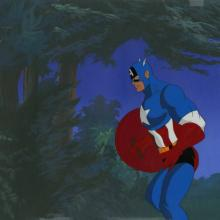 X-Men Production Cel and Drawing - ID: octxmen20554 Marvel