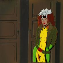X-Men Production Cel and Background - ID: octxmen20745 Marvel