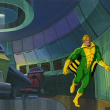 X-Men Production Cel and Background - ID: octxmen20748 Marvel