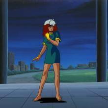 X-Men Production Cel and Background - ID: octxmen20777 Marvel