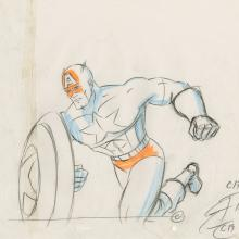 X-Men Production Drawing - ID: octxmen20790 Marvel