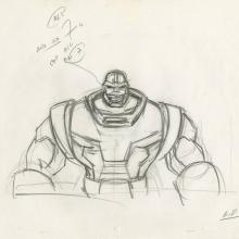 X-Men Production Drawing - ID: octxmen20811 Marvel
