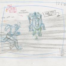 X-Men Production Drawing - ID: octxmen20822 Marvel