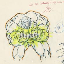 X-Men Production Drawing - ID: octxmen20825 Marvel