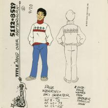 Alvin and the Chipmunks Model Cel - ID: septalvin20126 Bagdasarian