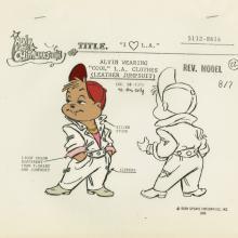 Alvin and the Chipmunks Model Cel - ID: septalvin20155 Bagdasarian