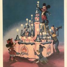Disneyland 30th Anniversary Limited Edition Print Disneyana