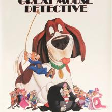 Great Mouse Detective One-Sheet Movie Poster - ID: septdetective20055 Walt Disney
