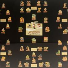 1985 WDW Coca-Cola Anniversary Pin Set - ID: septdisneyana20021 Disneyana