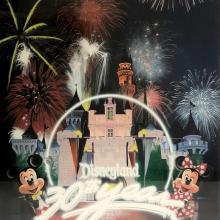 Disneyland 30th Anniversary Limited Edition Print - ID: septdisneyana20022 Disneyana