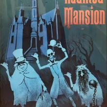 Haunted Mansion Poster Print - ID: septdisneyana20028 Disneyana
