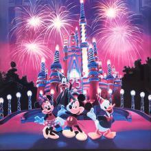 Walt Disney World 25 Magical Years Poster - ID: septdisneyana20029 Disneyana
