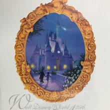 Walt Disney World 25th Anniversary Poster - ID: septdisneyana20041 Disneyana