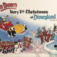 Roger Rabbit's Very 1st Christmas at Disneyland - ID: septdisneyana20048 Disneyana