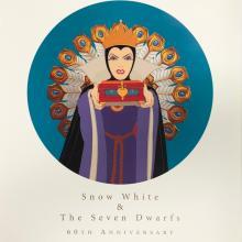 Snow White and the Seven Dwarfs 60th Anniversary WDCC Print - ID: septdisneyana20065 Walt Disney