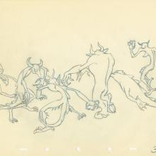 Fantasia Production Drawing - ID: septfantasia20250 Walt Disney