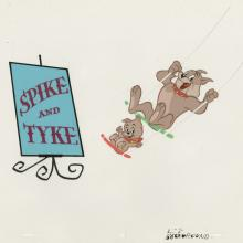 Spike and Tyke Title Cel - ID: septmgm20103 MGM