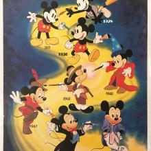 Mickey Through the Years Poster - ID: septmickey20047 Walt Disney