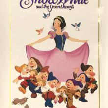 Snow White and the Seven Dwarfs Walt Disney Classic One-Sheet Poster - ID: septsnowwhite20058 Walt Disney