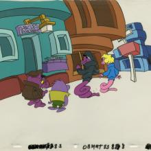 Saturday Supercade Production Cel - ID: septsupercade20215 Ruby Spears