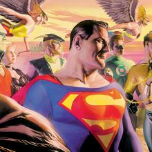 In the Light of Justice Signed Print - ID: AR0318DL Alex Ross