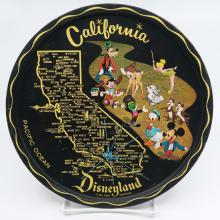 California Disneyland Souvenir Metal Serving Tray - ID: aprdisneyland21346 Disneyana