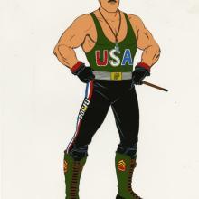 G.I. Joe Model Cel - ID: aprgijoe21015 Marvel/Sunbow