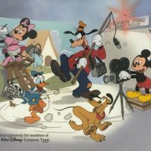 Limited Edition CalArts Fab Five Sericel - ID: aprmickey21184 Walt Disney