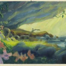 Secret of Nimh Background Color Key Concept - ID: aprnimh21067 Don Bluth