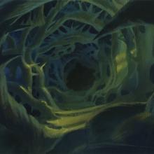 Secret of Nimh Background Color Key Concept - ID: aprnimh21074 Don Bluth
