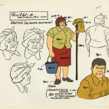 The New Scooboy-Doo Movies Model Cel - ID: aprscooby21016 Hanna Barbera