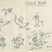 Song of the South Photostat Model Sheet - ID: aprsouth21168 Walt Disney