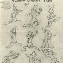 Song of the South Photostat Model Sheet - ID: aprsouth21169 Walt Disney
