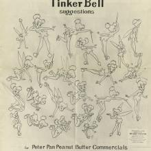 Tinker Bell Photostat Model Sheet - ID: aprtinkerbell21181 Walt Disney