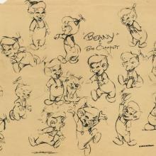 Beany and Cecil Photostat Model Sheet - ID: augbeany21087 Bob Clampett