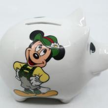 Reutter Porzellan Mickey Mouse Piggy Bank - ID: augdisneyana20060 Disneyana