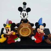 Mickey Mouse 75th Anniversary Desk Clock - ID: augdisneyana20062 Disneyana