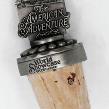 World Showcase: The American Adventure Wine Cork - ID: augdisneyana20083 Disneyana