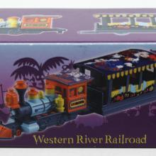 Western River Railroad Tokyo Disneyland Die Cast Metal Car - ID: augdisneyana20091 Disneyana