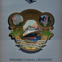 Disney Cruise Line Panama Canal Crossing Jumbo Pin & Print - ID: augdisneyana20116 Disneyana