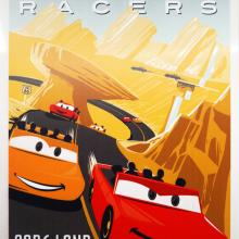 Radiator Springs Racers Metal Attraction Poster Replica - ID: augdisneyana20130 Disneyana