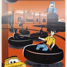 Luigi's Flying Tires Metal Attraction Poster Replica - ID: augdisneyana20131 Disneyana