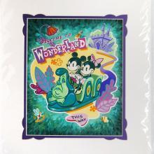 Welcome to Wonderland Art Print - ID: augdisneyana20138 Disneyana