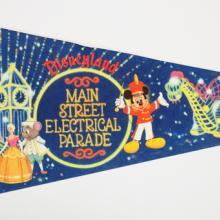 Main Street Electrical Parade Pennant - ID: augdisneyana20143 Disneyana