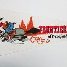 Cowboy Goofy Frontierland Pennant - ID: augdisneyana20147 Disneyana