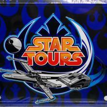 Star Tours Vanity License Plate - ID: augdisneyana20158 Disneyana