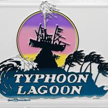 Typhoon Lagoon Vanity License Plate - ID: augdisneyana20162 Disneyana